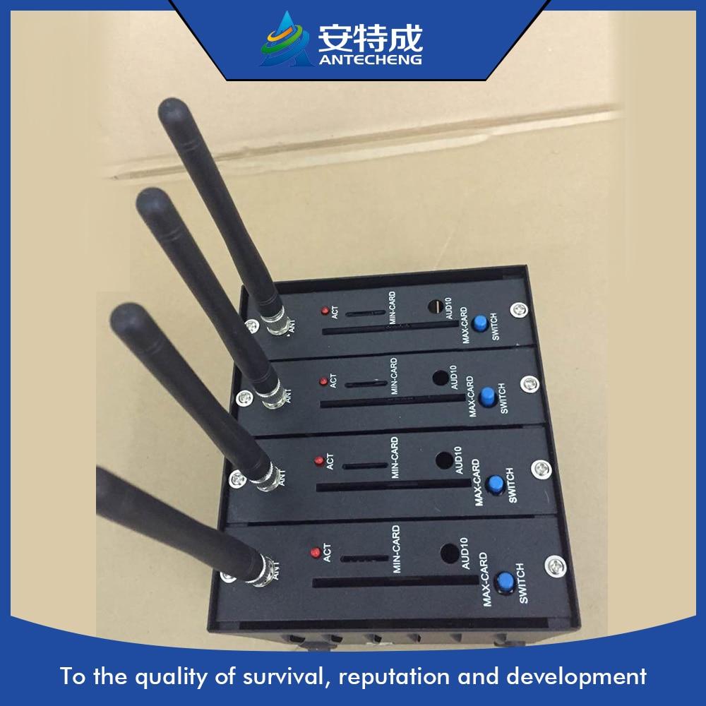 4 Port Wavecom Modem-pool, 4 Ports Modem Pool, 4 Sim-karte Gsm Gprs Modem-pool