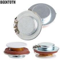 BGEKTOTH 2Pcs 27mm Lautsprecher Vibration Resonance 3W 4 Ohm High Fidelity Audio Stereo