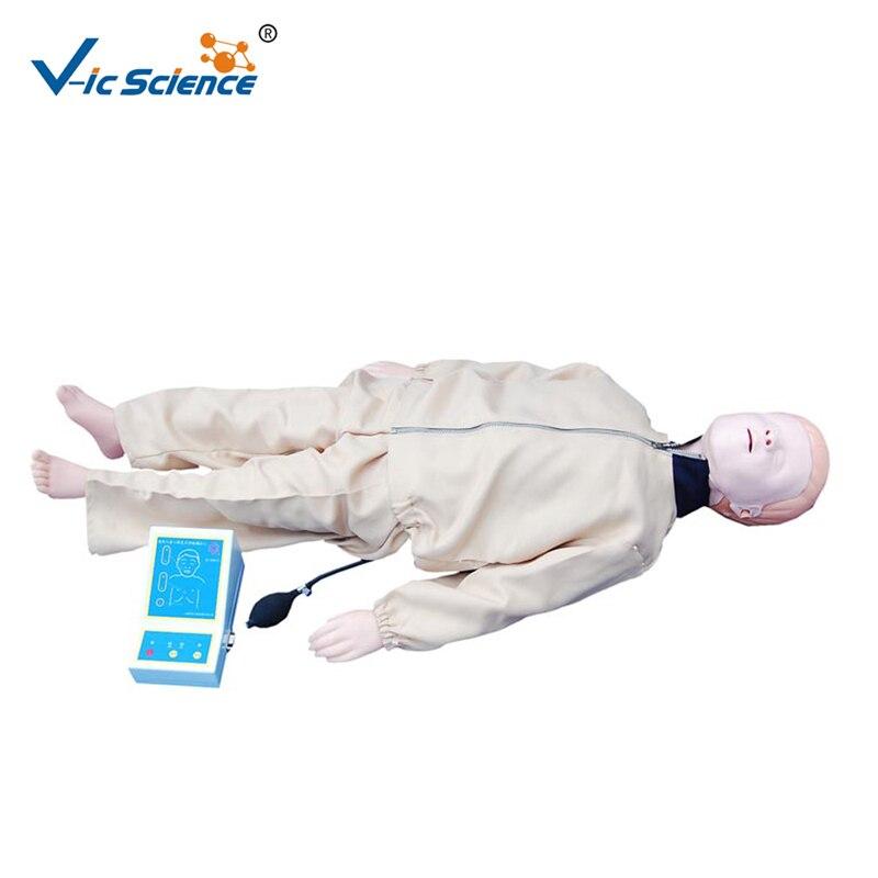 Mannequin avancé de formation de rcr d'enfant de PVC pour l'étude médicale
