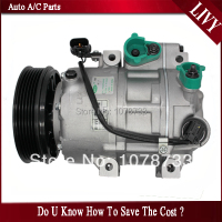 CAR A/C AC Compressor for Hyundai GENESIS COUPE 3.8L 2009 2010 2011 2012 2013 F500 GG6AA03 F500 GG6AA05