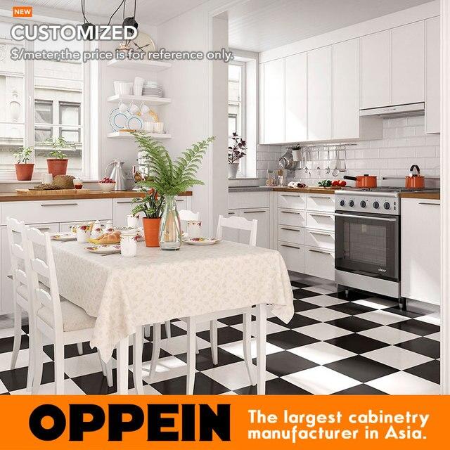 6 Metri Quadrati A Forma Di L Stile Nordico Piccola Cucina (OP16 L27)