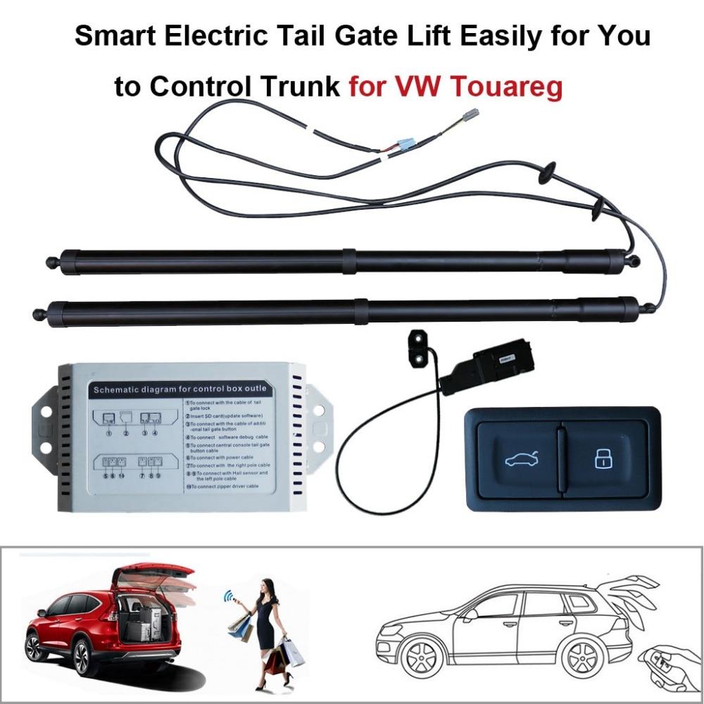 Smart Auto Électrique Queue Porte Ascenseur pour Volkswagen VW Touareg Contrôle Ensemble Hauteur Éviter Pincée Avec électrique aspiration