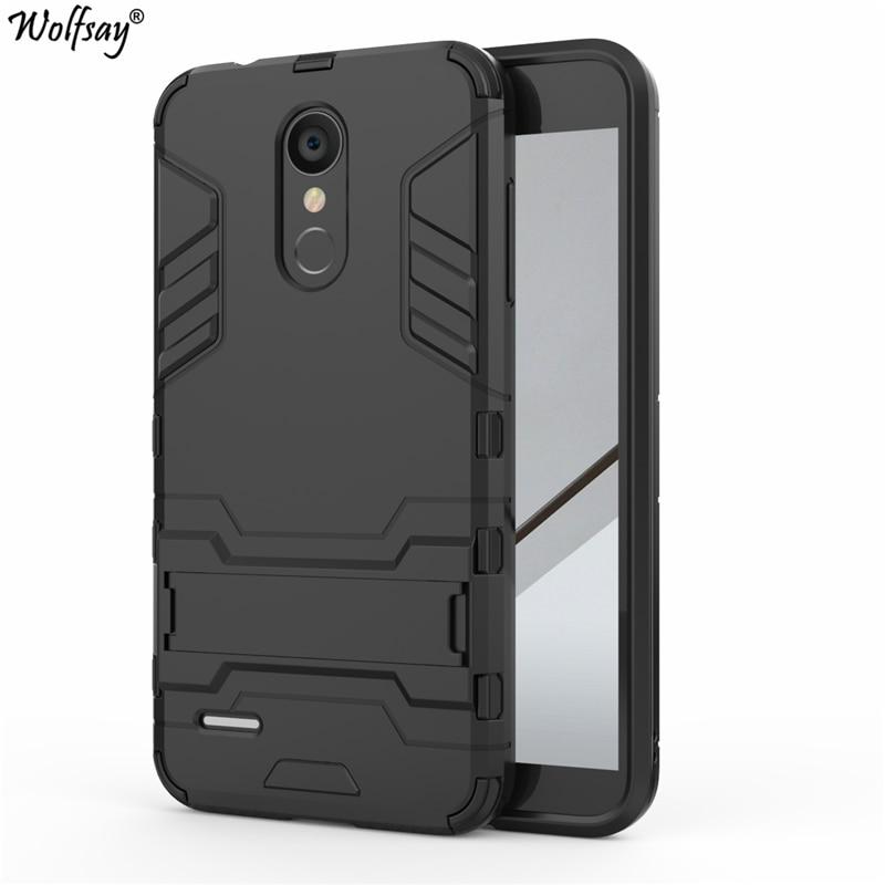 Wolfsay Copertura Per LG K8 2018 Slim Case PC + Gomma Morbida Armatura Cassa Del Telefono Per LG K8 2018X210 Della Copertura per LG K9 Affari Fundas