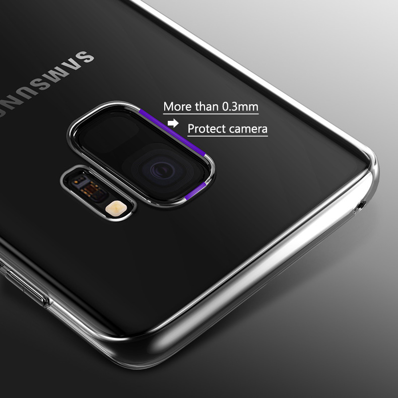 KCLC2903_4_Ultra-thin Transparent Clear Soft Silicone Case For Samsung Galaxy S9