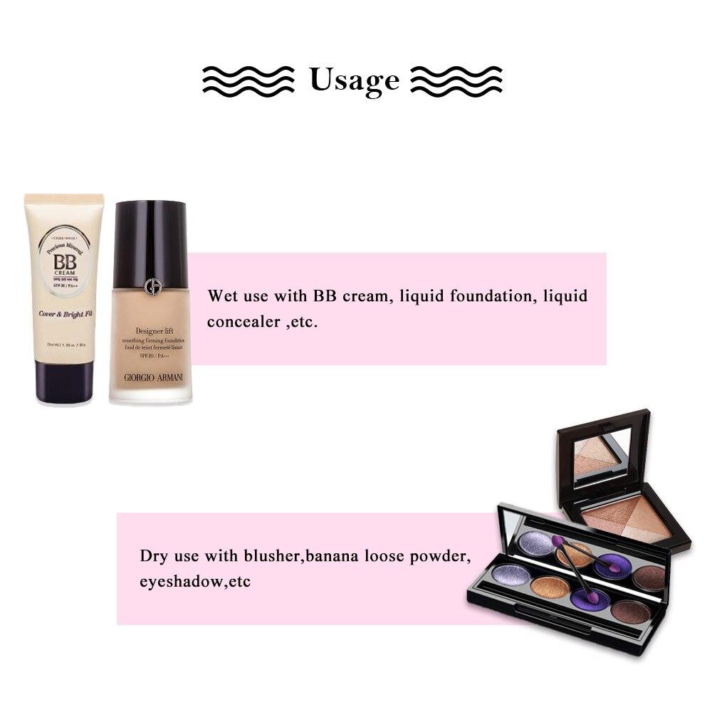 1 Stücke Foundation Schwamm Gesichts Kosmetik Make-Up Schwamm Puff ...