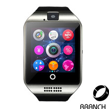 No. 1 original smartwatch q18 armbanduhr für apple ios android intelligente uhr kinetische smart watch mit kamera pk gt 08 dz09 U9