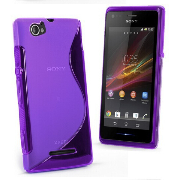 more photos 7c4fe 792e2 Buy back cover sony xperia m c1905 and get free shipping on ...