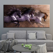 Wall Posters And Prints 1 Piece Animal horse Art Canvas Paintings Picture Home Décor For Living Room