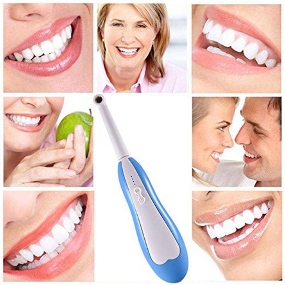 WiFi Cámara Dental inalámbrica HD Intraoral endoscopio de luz LED vigilancia inspección dentista Oral Tiempo Real cuidado Dental
