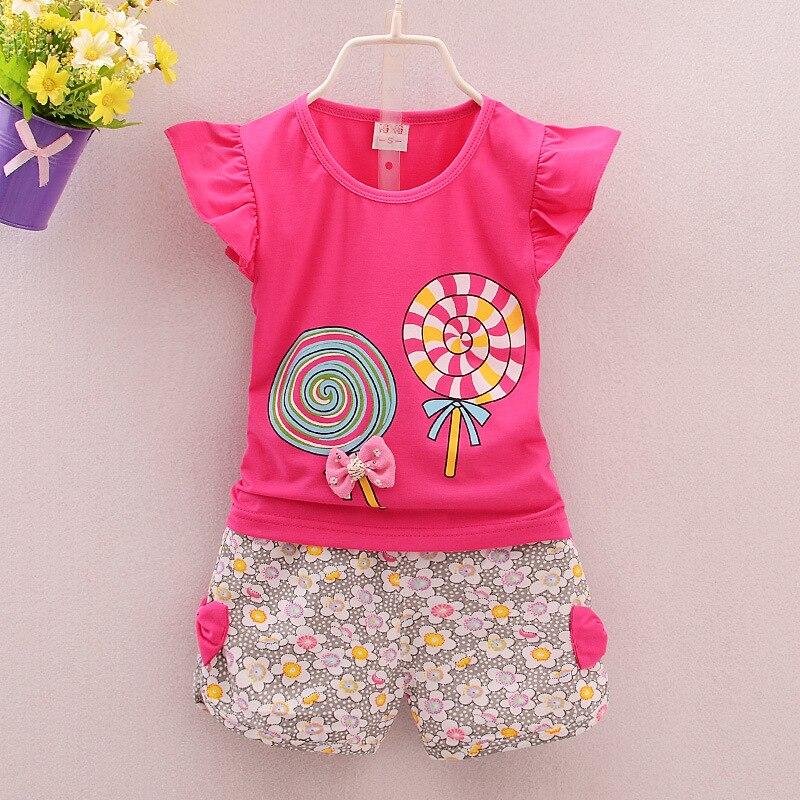 2018 Lolita New Born Baby Clothes Girl Imposta Princess Summer - Abbigliamento per neonato