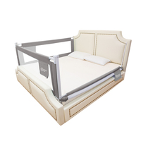 children's bed fence baby shatter resistant fence baby safety against bedside guardrail baffle