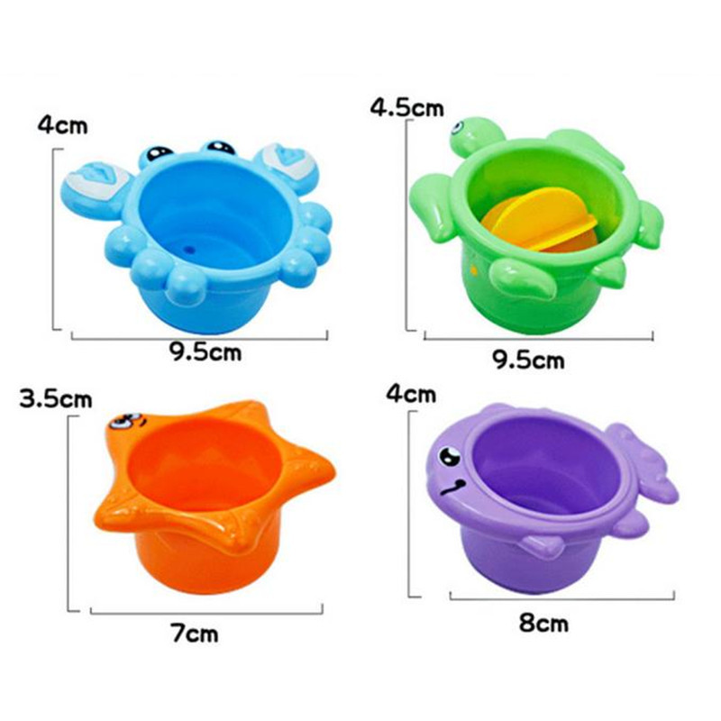 Water temperature gauge baby cartoon newborn bath toy8