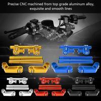 Motorcycle Steering Handlebar System for 125cc Pit Bike Dirt Bike 7/8 22mm Adjustable CNC