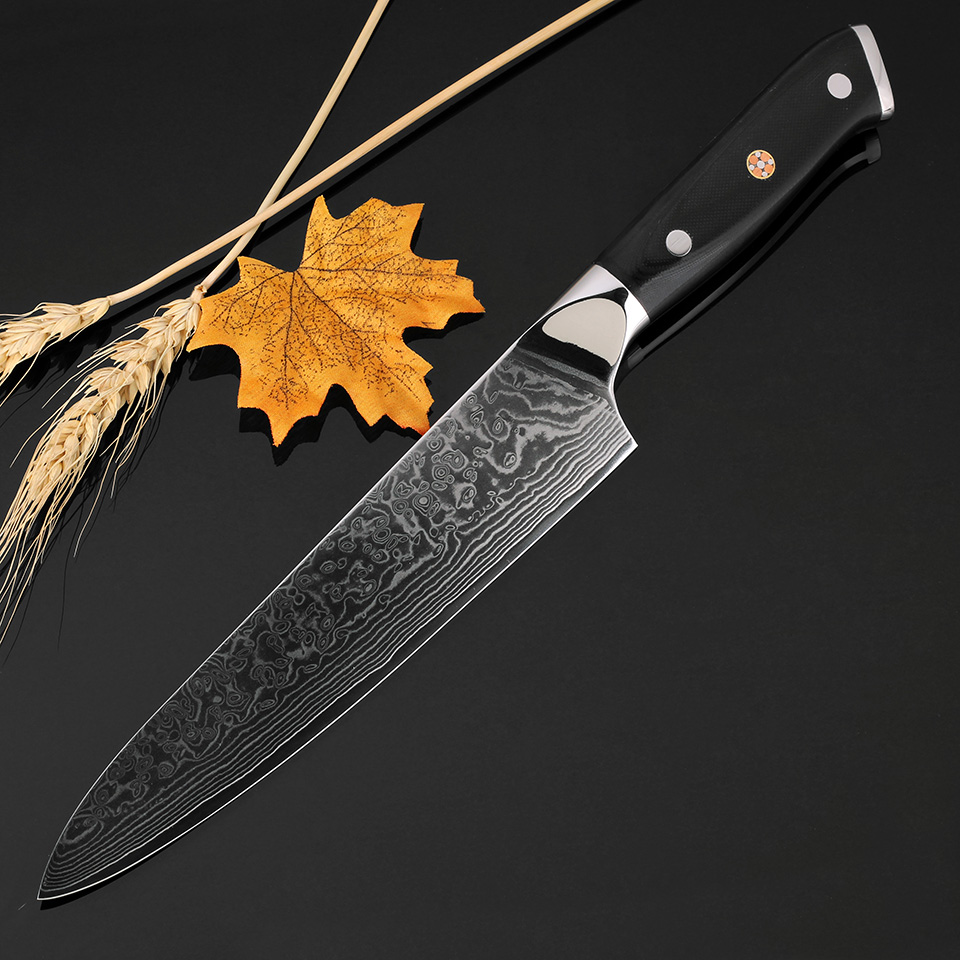 Best Damascus Kitchen Knives For Rent Hot Sale Xituo Chef Knife Utility Japanese Vg10 Steel Sharp Blade G10 Cleaver Accessories Cookingtool