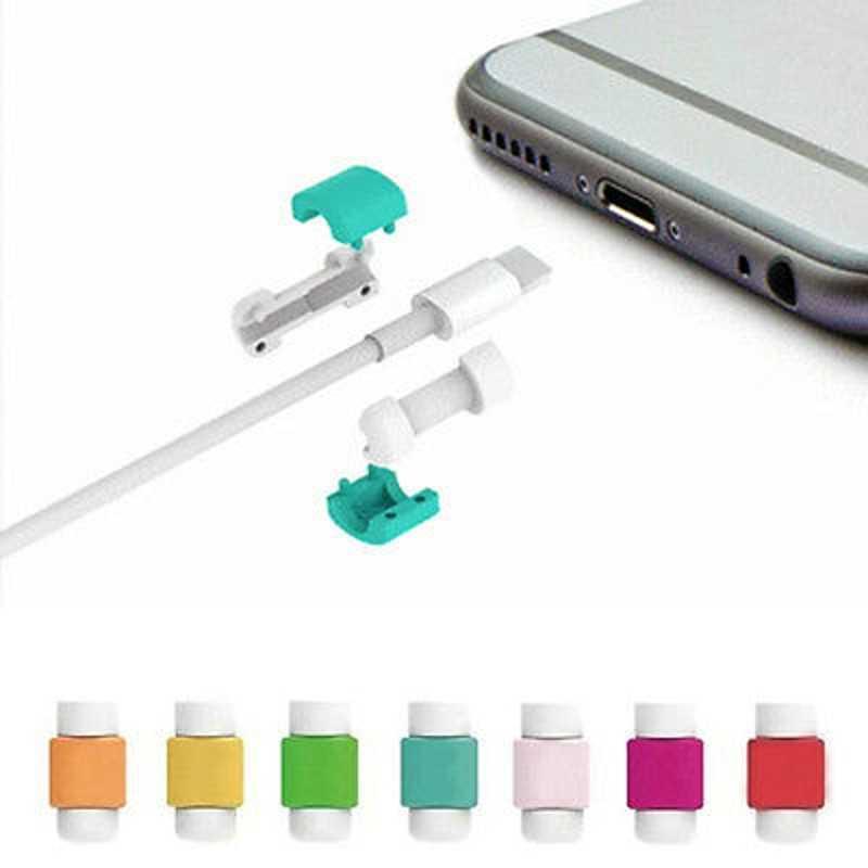 Kabel USB słuchawki Protector cukierkowy zamykany pokrowiec do Samsung J530 S8 S9 Plus S7 krawędzi uwaga 9 etui na xiaomi Redmi uwaga 5 akcesoria