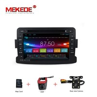 In Stock 7inch Capacitive Screen Android Car Gps Dvd Radio Player For Dacia Sandero Duster Renault