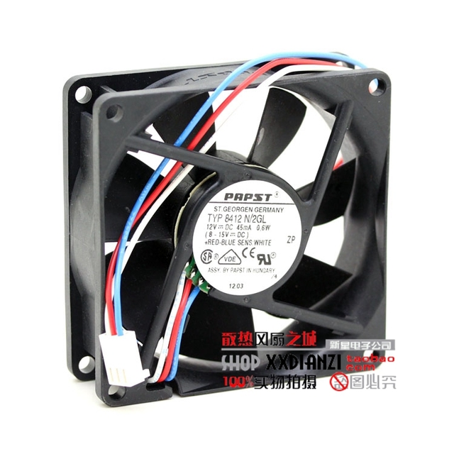 Brand new N/2GL TYP-8412 8025 12V 0.6W 8CM high end cooling fan