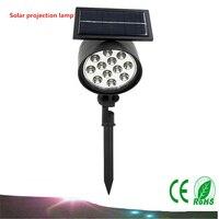 1PCS Led Solar Sunlight Outdoor IP65 Spotlights Solar Energy Garden Lawn Lamp Lights Path Landscape Spot