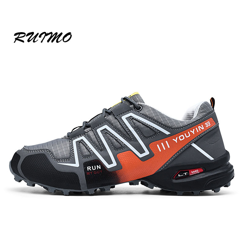 Sneakers Outdoor Men s Hiking shoes Non slip Wear resistant Cross country Running Shoe Speed 3