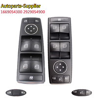 1669054300 2929054900 Electric Power Window Switch Front Left For Mercedes ML350 GL450 CLA250 2012 2016