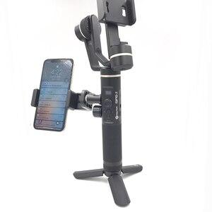 Image 2 - Phone Holder for Zhiyun Weebill Lab Hohem ISteady Pro Feiyu G6 Plus DJI Ronin S Osmo Gimbal Smartphone Mount Tripod Bracket