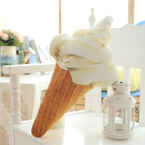 Image 4 - CAMMITEVER Creative 3D Ice Cream Shape Cushion Doll Plush Toy Pillow Bed Seat Use Home Decor Gift