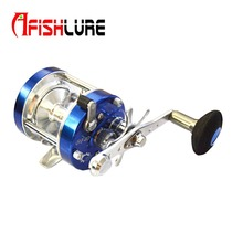 Metal Round Jigging Reel 6+1 Bearing Saltwater Trolling Drum Reels Right Hand Fishing Sea Coil Baitcasting Reel