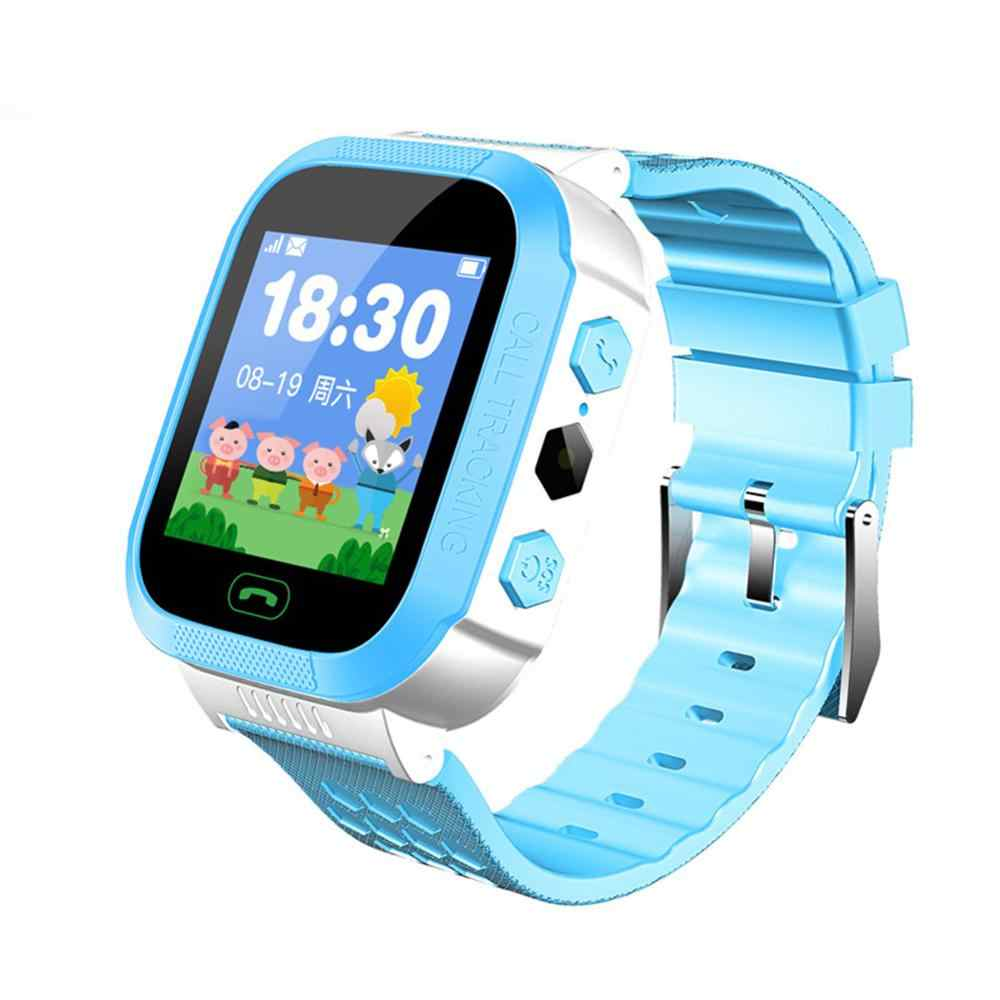 Kids Smart Watch Phone Watch Sos Timer Alarm Clock Child