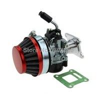Гоночный карбюратор воздушный фильтр в сборе 50cc 60cc 66cc 80cc 2-тактный карманный мини велосипед газовый двигатель моторизованный велосипед