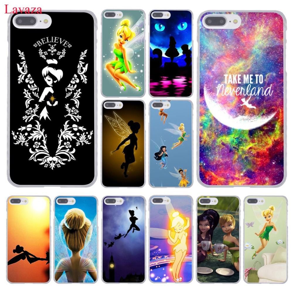 Tinkerbell Tinker Bell Hard Coque Shell Phone Case for Apple iPhone 7 7 Plus 6 6S Plus 5 5S SE 5C 4 4S Clear Back Cover