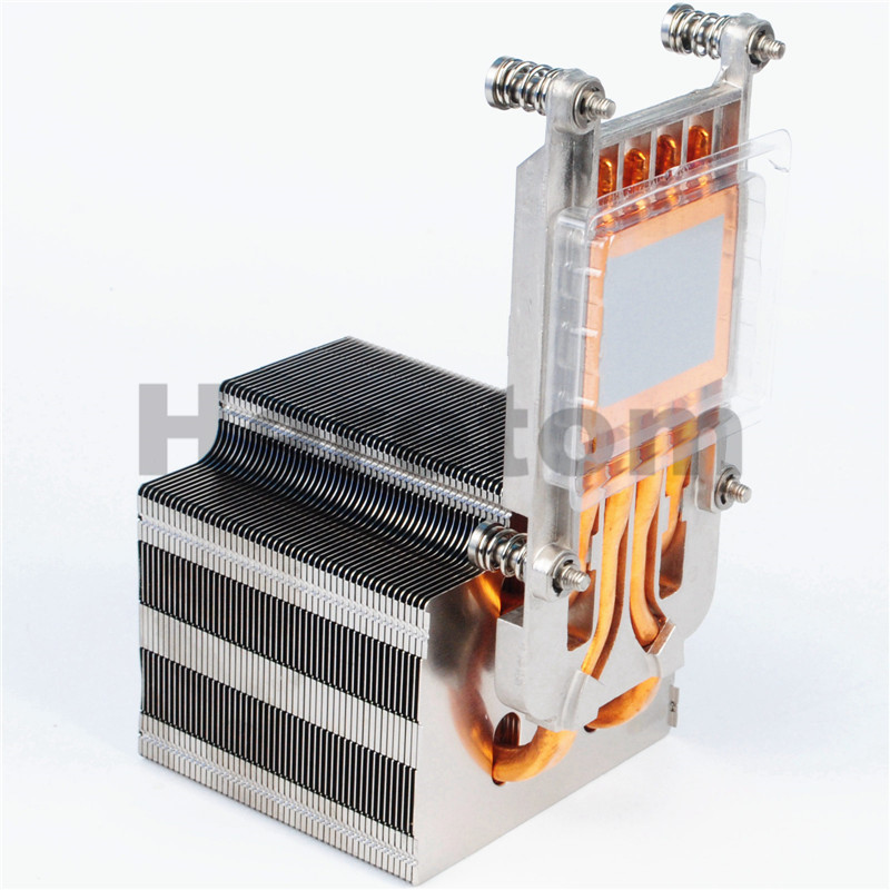 Heretom New Genuine FVT7F For Dell PowerEdge R920 R930 heatsink new 3 5 sas sata caddy tray for dell poweredge r230 r330 r430 r530 r630 r730 r830 r930
