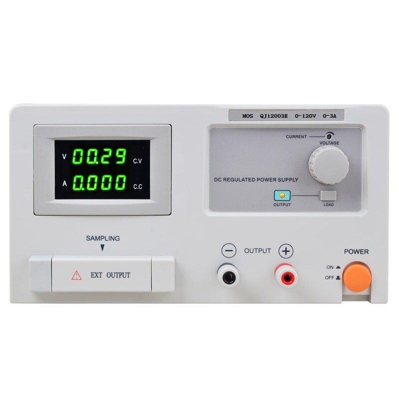 QJ12003E DC adjustable constant current regulator power supply Laboratory power supply 0-120V 0-3A transformer fast arrival qj12003e dc adjustable regulator laboratory power supply 0 120v 0 3a transformer resolution of 100mv 1ma
