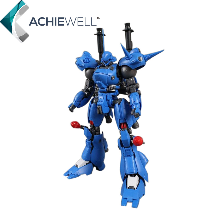 ФОТО Brand GG MG 1/100 MS-18E Gundam Kampfer Action Figure Japanese Anime Collictible Robot For Fan Gift Boys Assembly Toys