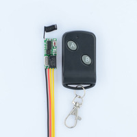 RF Remote Control Switch System Mini Small Volume DC3 5V Receiver 315 433MHZ Waterproof Transmitter A