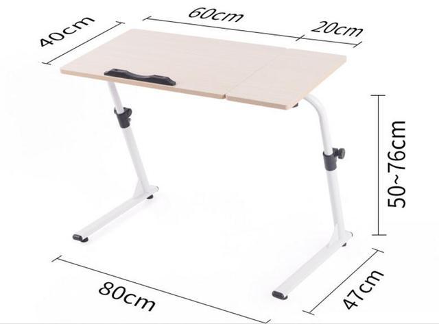 60 20 40 Cm Mehrzweck Laptop Schreibtisch Höhenverstellbar