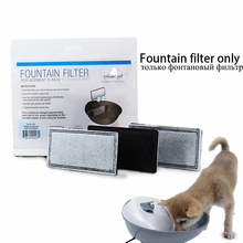 цена на 3 Pc/bag Filter Activated Carbon Pet Water Fountain  Replacement Filters Water Dog Cat Automatic Electric Drinking Bowl