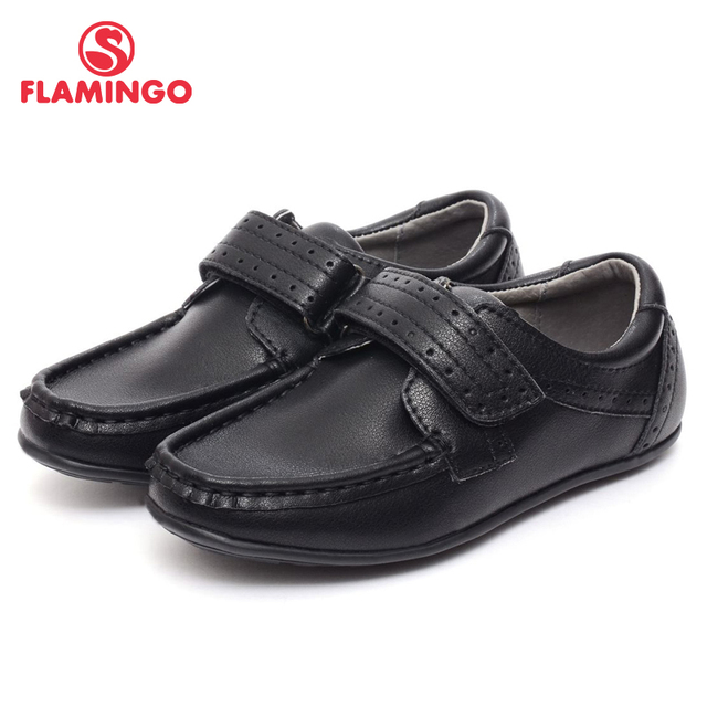 FLAMINGO famous brand 2016 new arrival spring & autumn kids shoes fashion high quality classic school shoes for boys 52-XT121-1