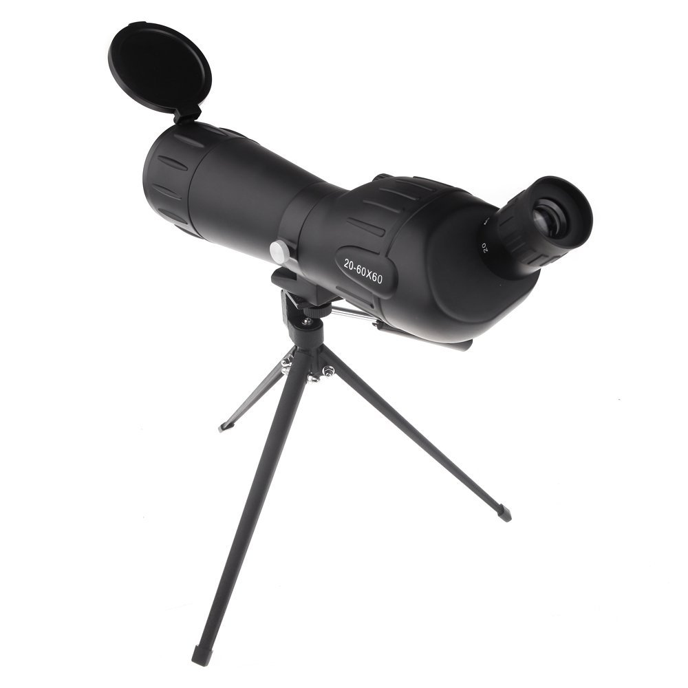 Zoom Adjustable Monocular Telescope Mono Spotting Scope with Tripod for Traveling Hiking Camping Open-air Activities Black 10x zoom telescope lens with tripod