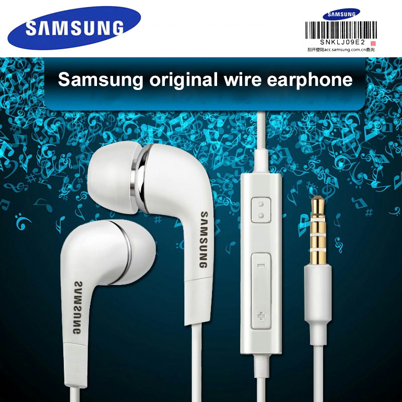 SAMSUNG Earphones <font><b>EHS64</b></font> 3.5mm In-ear with Microphone Wire Headset for Samsung Galaxy S8 xiaomi Support Official Test Original image