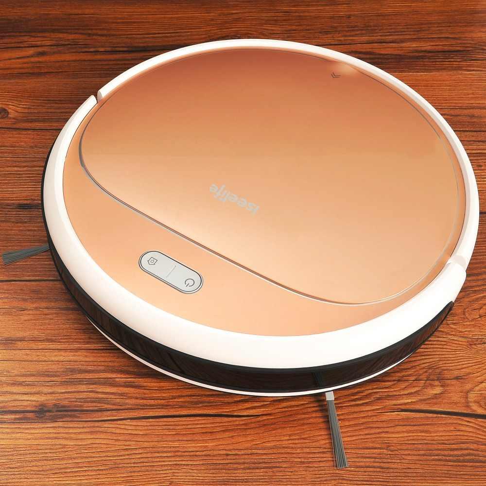 ISEELIFE 1300PA умный робот пылесос 2в1 для дома сухой влажный резервуар для воды бесщеточный двигатель умный робот для очистки аспиратор
