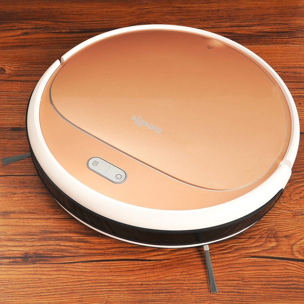 ISEELIFE 1300PA Smart Robot Vacuum Cleaner 2in1 for Intelligent Cleaning of Dry and wet Floor 1