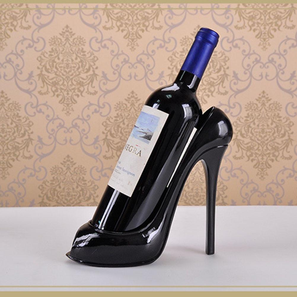 High Heel Shoe Wine Bottle Holder Shoes Design Silicone Wine Bottle Holder  Rack Shelf for Home Party Restaurant-in Wine Racks from Home   Garden on ... 2b6b99d64fe7