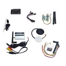 JMT APM 2.8 ArduPilot Flight Controller with GPS Telemetry Kit,FPV Combo 5.8G 250mW for DIY FPV RC Drone Multicopter