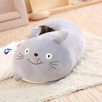 Hot Cute Fat Shiba Inu Dog Cat Totoro Penguin Pig Plush Toy Stuffed Soft Animal Cartoon Pillow kids Toy Birthyday Present friend stuffed toy