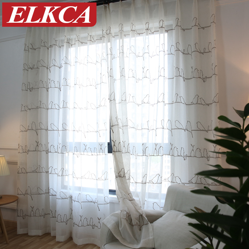 Sheer Curtains With Birds Curtain Menzilperde Net