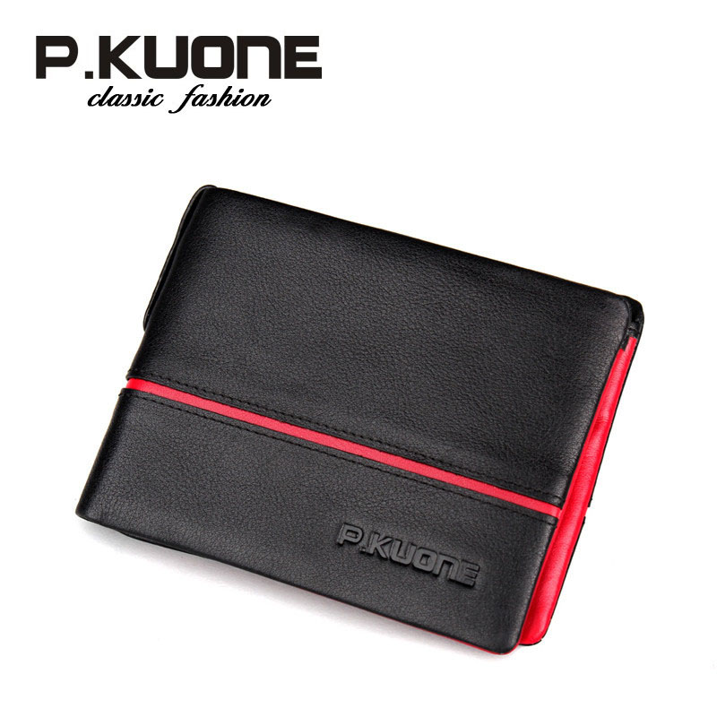 male designer wallets ho4k  Aliexpresscom : Buy PKuone Fashion Brand Men Wallets Genuine Leather  Short Purse Business Casual Male Designer Wallet from Reliable wallet  products