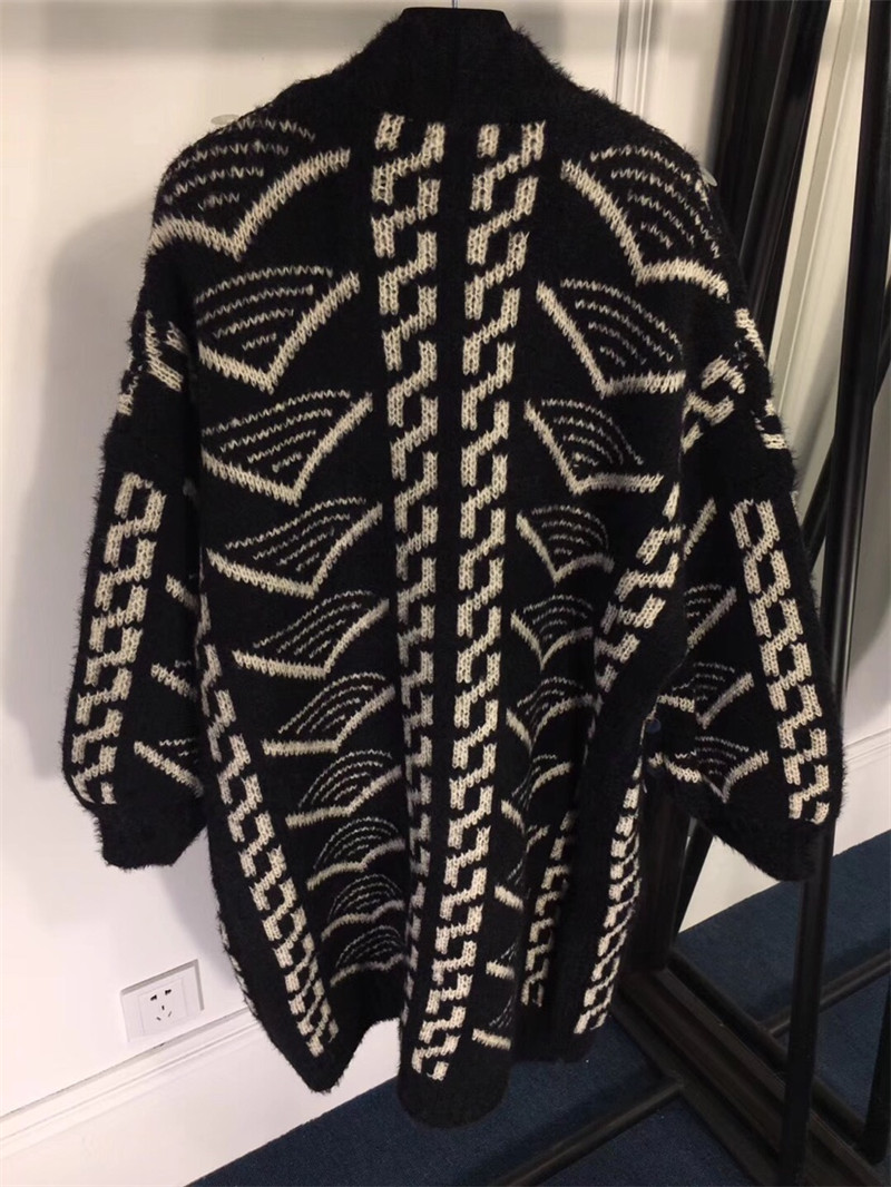 Long Nouvelle Hiver Cardigan Fomolayime Lâche 2018 Automne Chandail Mode Paillettes Cardigans qSSI8wtT