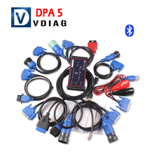 New Arrival DPA5 Dearon Scanner Dearborn Protocol Adapter 5 DPA-5 Heavy Duty Truck Scanner DPA 5 with Bluetooth fast shipping