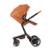 FooFoo Marca Europeia PU De Couro De Luxo Carrinho de Bebê Carrinhos De Alta Vista Dobrável Carro Poussette Buggy Stroller com Sacos de Dormir