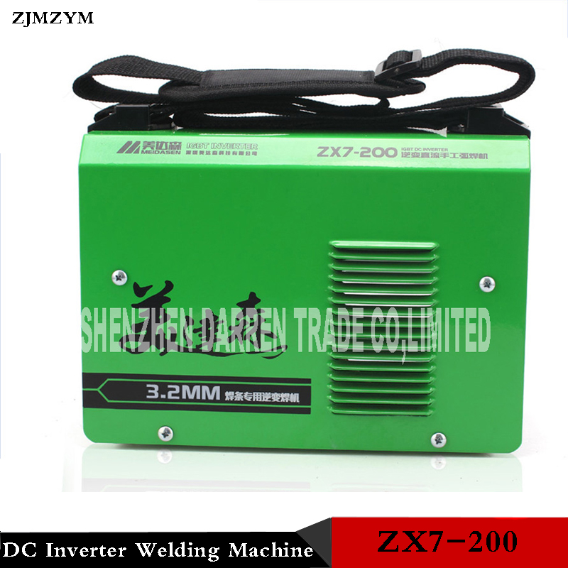 ZX7-200 220V Welding MMA welder IGBT DC Inverter Welding Machine Manual Electric Welding Machine car styling bixenon projector lens 3 inch q5 koito with cover shrouds for tiguan fit for d2s d2h xenon bulb free shipping